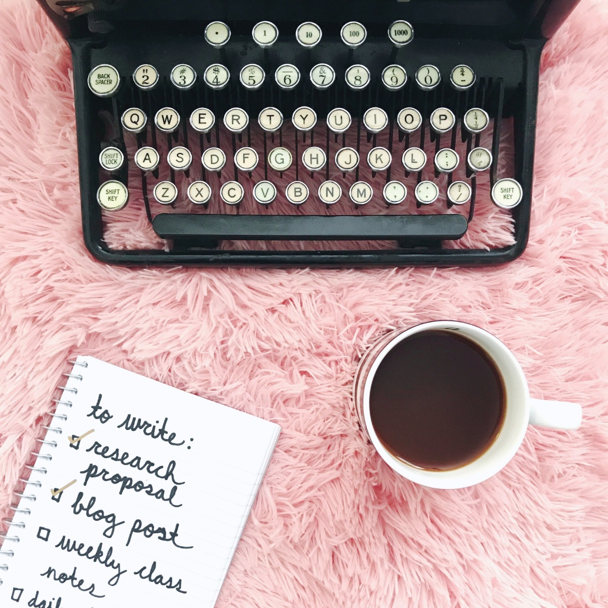 Just your type: 5 steps to getting over writer's block