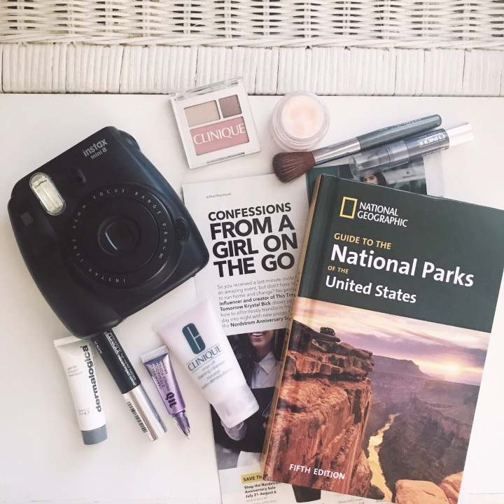A road map to your travel beautybag