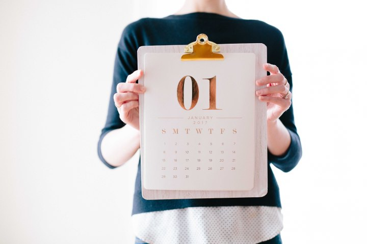 Stick to your New Year's Resolutions: 5 ways to start