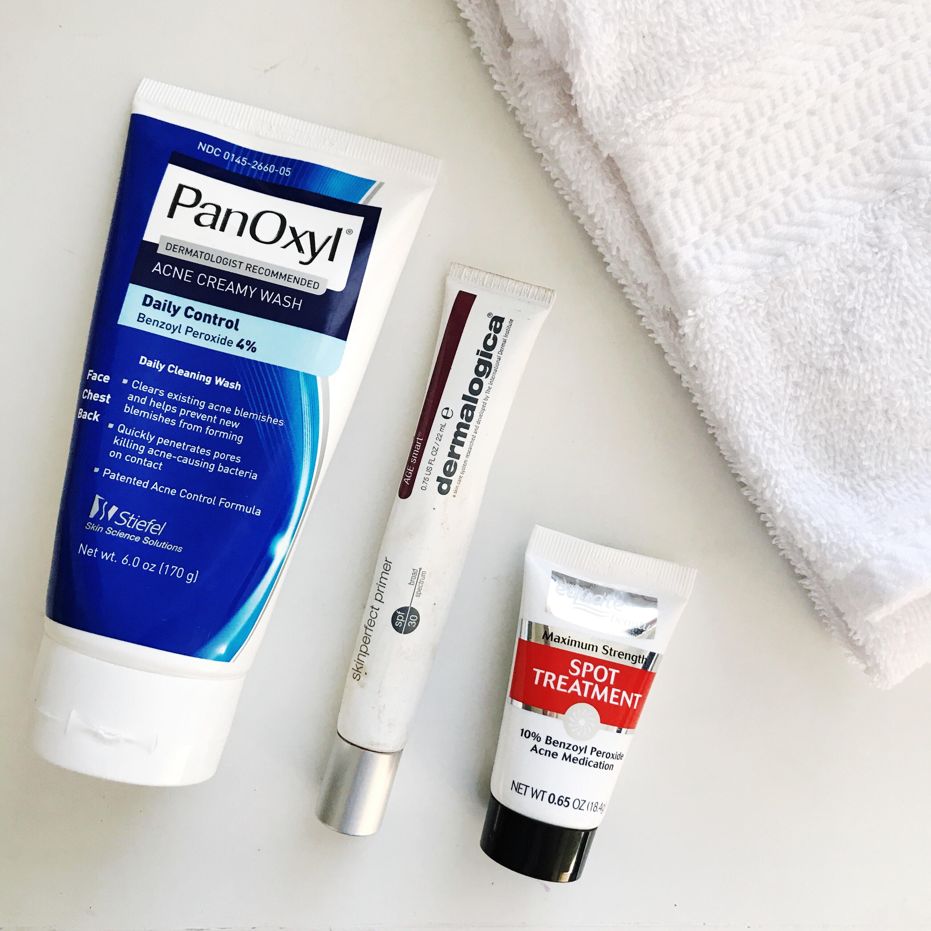 Panoxyl Facial Wash